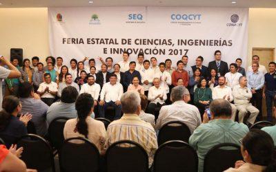 Clausura SEQ la Feria Estatal de Ciencias, Ingenierías e Innovación 2017