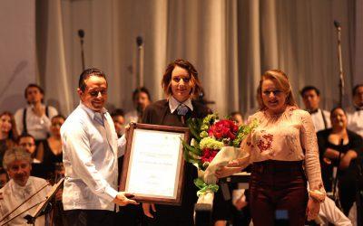 """Alondra de la Parra dirige en Chetumal el concierto """"Navidad en Quintana Roo 2017"""""""