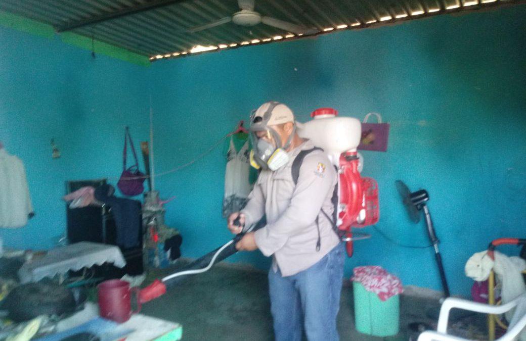 Con operativos de control larvario y fumigación la Jurisdicción Sanitaria 1 mantiene a raya el paludismo
