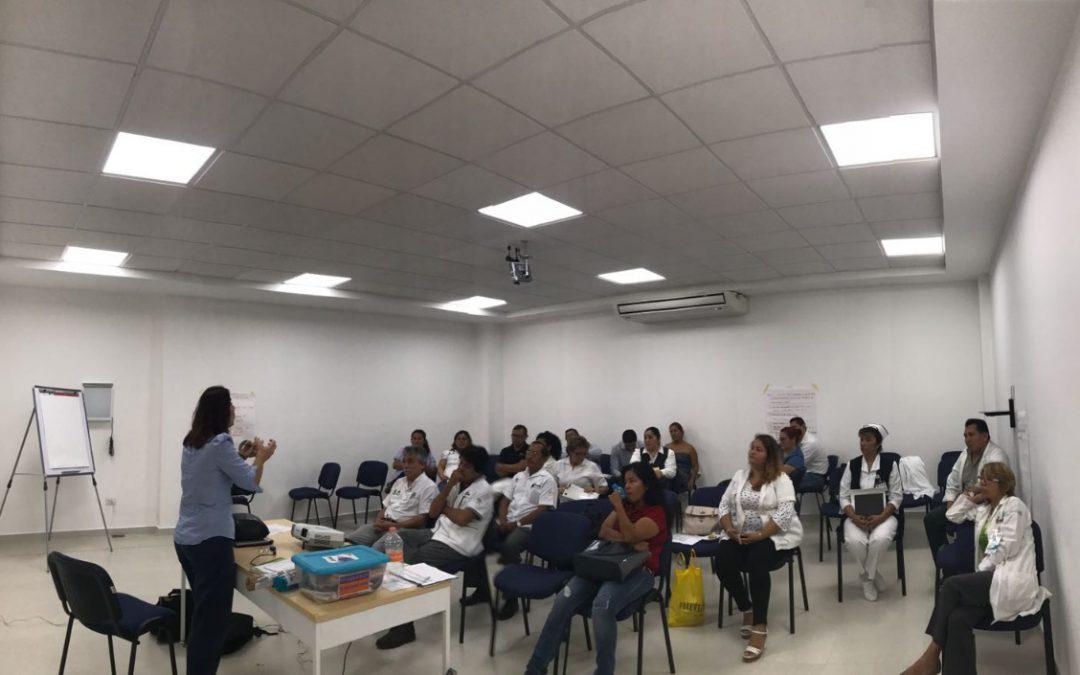 """SESA promueve cursos de capacitación bajo el lema """"Que nadie se quede atrás: pongamos fin a la violencia contras las mujeres y las niñas"""""""