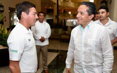 ((FOTOS)) A través del deporte, se fortalece la convivencia social: Carlos Joaquín