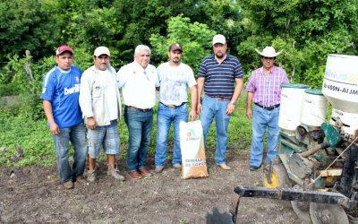 Productores de sorgo inician ciclo de siembra otoño-invierno en mil 200 hectáreas de cultivo