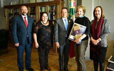 ((FOTOS)) Carlos Joaquín promociona en la FITUR los destinos turísticos de Quintana Roo con empresarios españoles