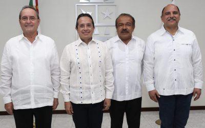 ((FOTOS)) El Gobernador Carlos Joaquín toma protesta al nuevo titular de la Secretaría de Infraestructura y Transporte del Gobierno del Estado