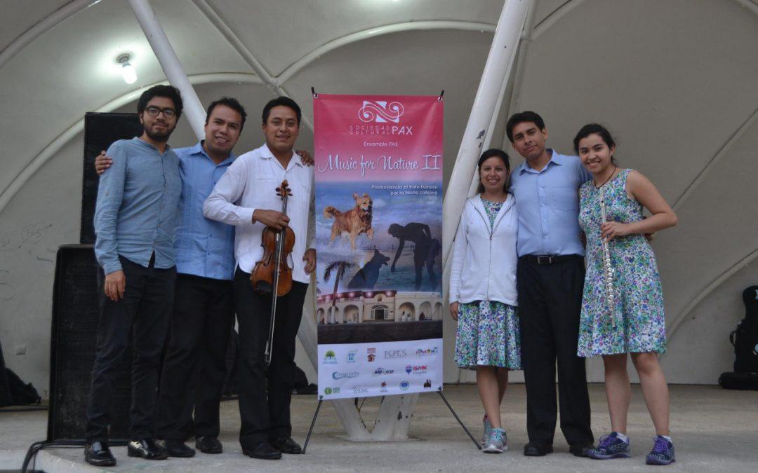 La FPMC acerca la música clásica a las colonias con el Concierto Music for Nature en la San Gervasio