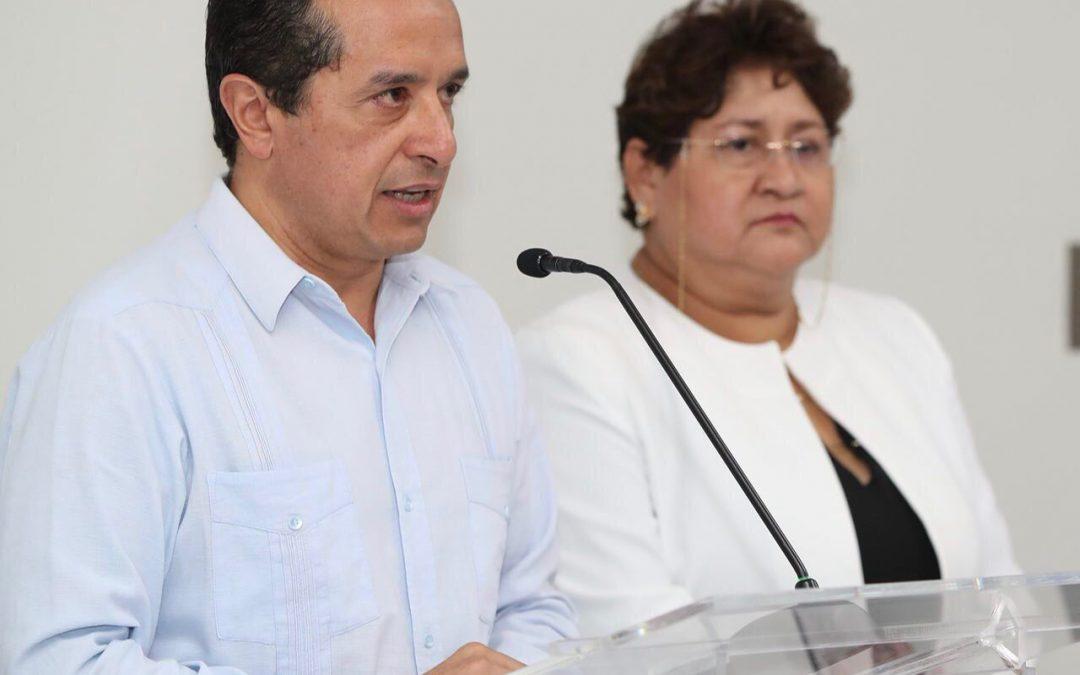 ((FOTOS)) Toma protesta el gobernador Carlos Joaquín a nueva titular de la SEFIPLAN