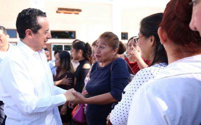Con más servicios de salud para las mujeres, disminuimos la desigualdad: Carlos Joaquín