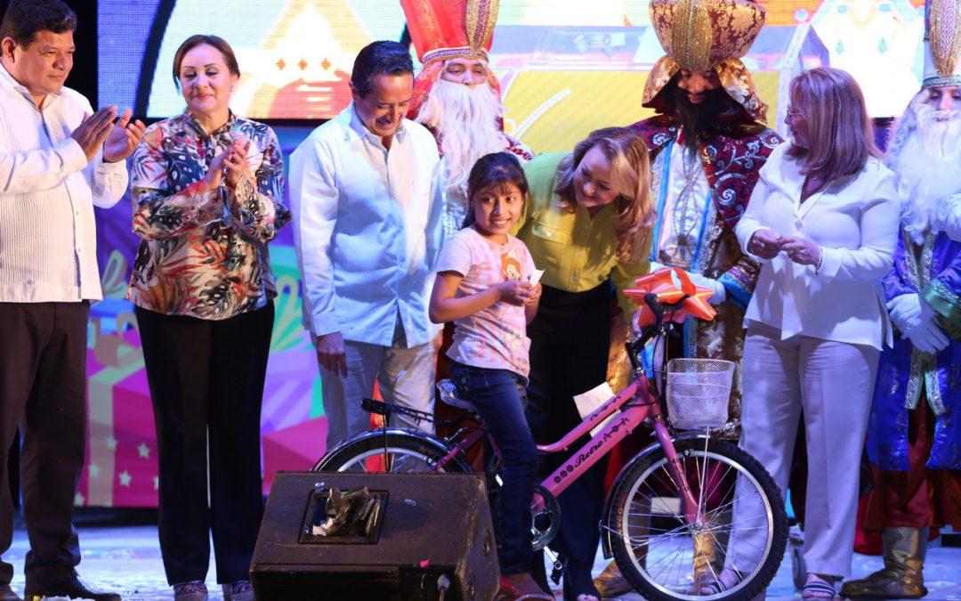 ((VIDEO) Mensaje del Gobernador Carlos Joaquín durante la celebración del Día de Reyes Magos en Chetumal