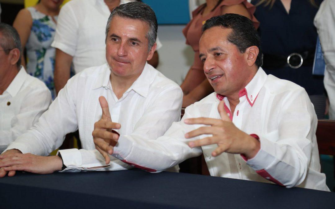 ((FOTOS))El Gobernador Carlos Joaquín en instalación del Comité Estatal de Información, Estadística y Geográfica de Quintana Roo.