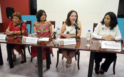 Realizan rueda de prensa en el Salón Latinoamericano de Chetumal
