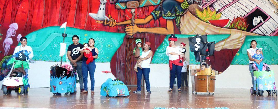 DIF Quintana Roo fomenta tradiciones en niñas y niños del CENDI I