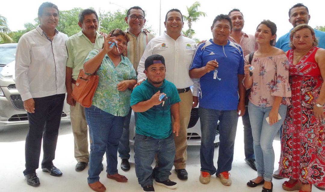 La Oficialía Mayor se suma a la lucha contra la pobreza que realiza el Gobierno del Estado de Quintana Roo