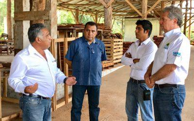 Gobierno de Carlos Joaquín trabaja para formar mejores vínculos entre empresas forestales