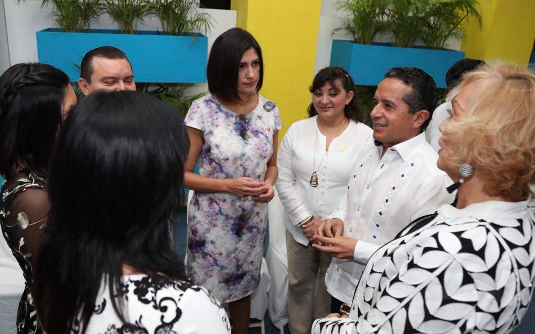En Quintana Roo, promovemos y trabajamos para avanzar hacia la igualdad efectiva entre mujeres y hombres: Carlos Joaquín