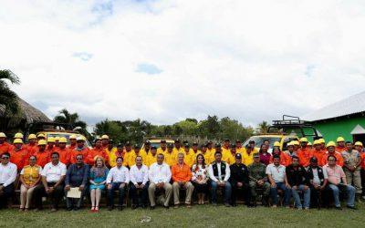 26 brigadas rurales de combate de incendios forestales protegen la selva quintanarroense
