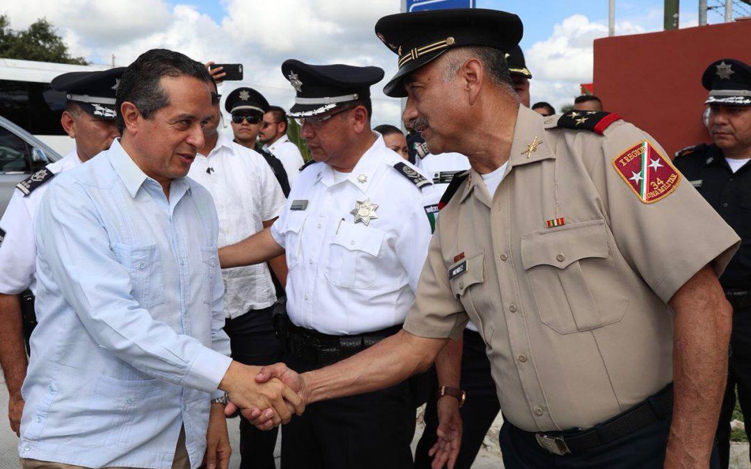 ((VIDEO)) El gobernador Carlos Joaquín en la inauguración de la caseta de policía y ampliación de acceso Bahía Petempich en Puerto Morelos