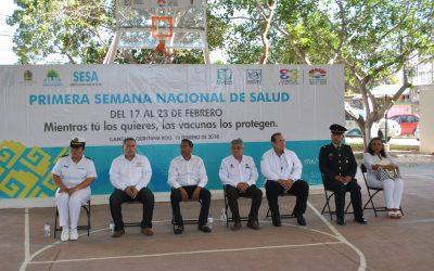 En la zona norte la SESA asegura a la niñez el acceso a la vacunación universal